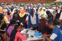 Relief Distribution at Moniar ghona 2, Uhkia, Cox's Bazar- 1