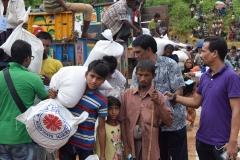 Relief Distribution at Moniar ghona 2, Uhkia, Coxs Bazar- 4