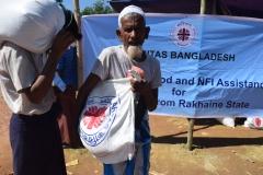 Saleh Ahmad (78), Jatimura camp, Taknaf.