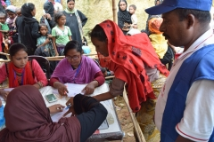 Relief Distribution at Moniar ghona 2, Uhkia, Coxs Bazar- 2